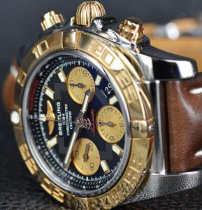 Men's Breitling Rose Gold Chronomat 41 Fake Watches