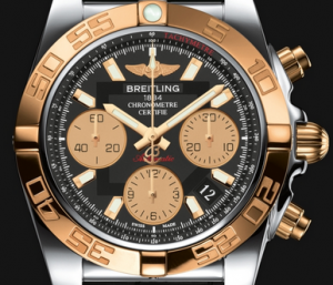Men's Breitling Rose Gold Chronomat 41 Replica Watches