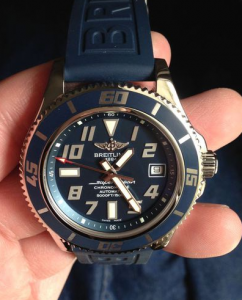 UK Breitling Superocean 42 Blue Limited Fake Watches