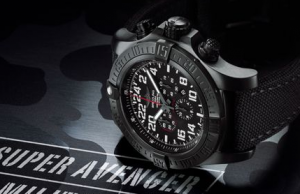 Swiss Breitling Super Avenger Military Limited Fake Watches Sale