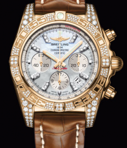 Pretty UK Breitling Chronomat 01 Diamond Fake Watches
