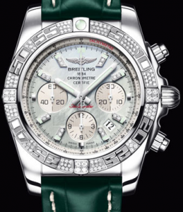 Pretty UK Breitling Chronomat 01 Diamond Replica Watches