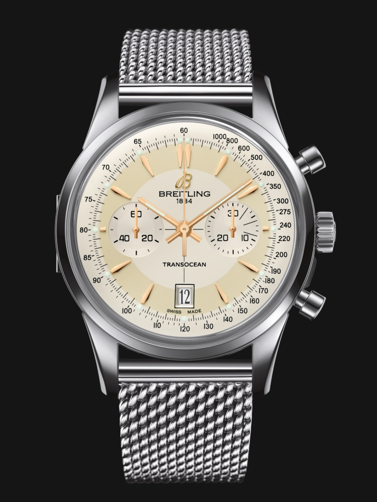 Replica Breitling Transocean Watches With Steel Bracelets