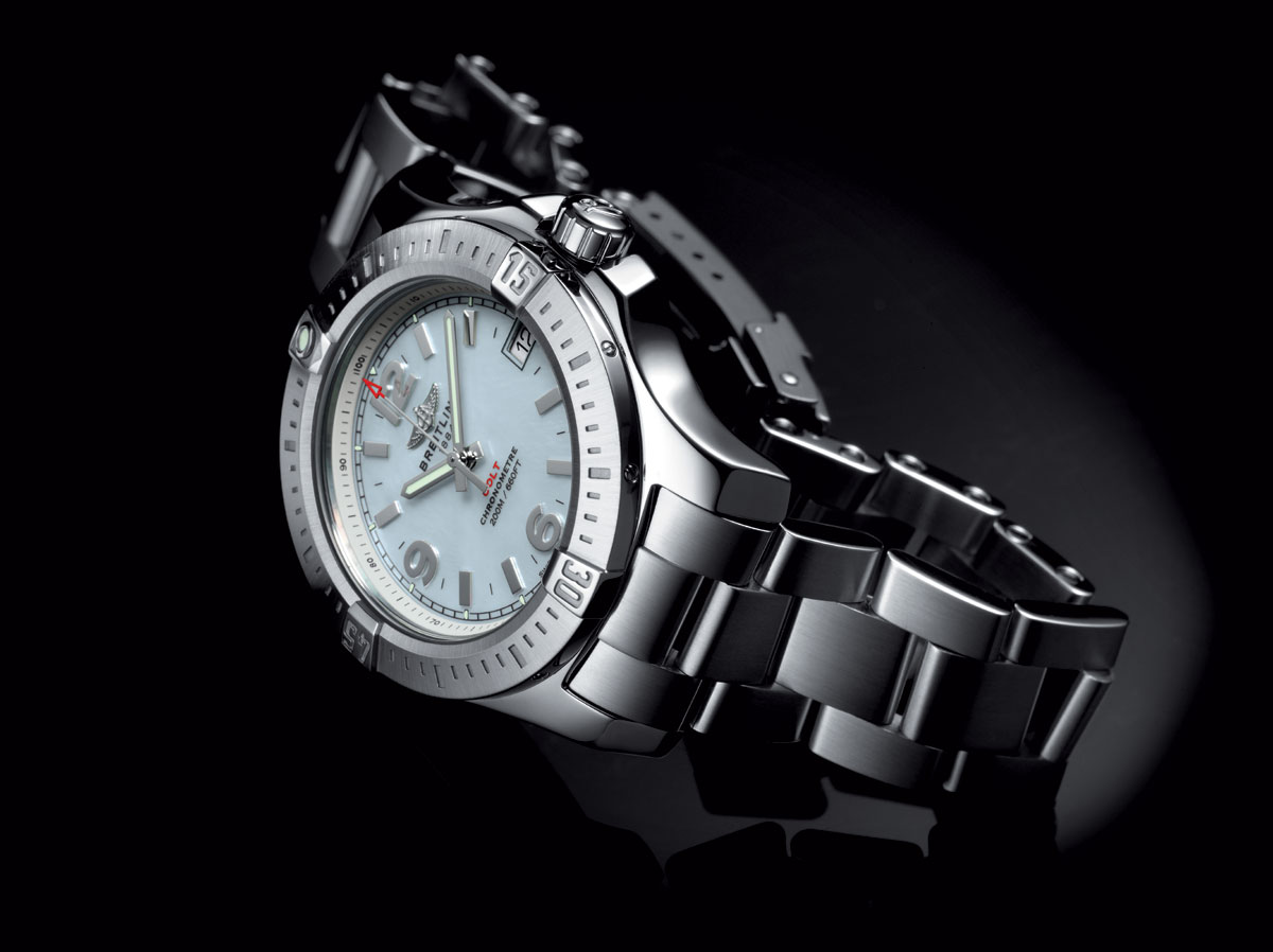 Steel Cases Replica Breitling Colt Watches