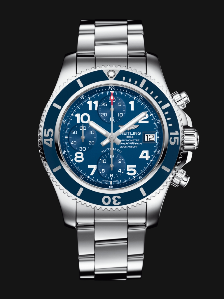 Arabic Hour Markers Breitling Superocean Chronograph Fake Watches