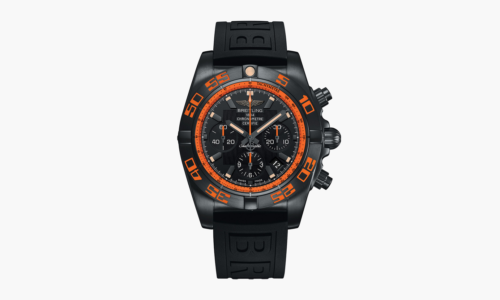 Copy Breitling Chronomat 44 Raven Watches With Orange Accent