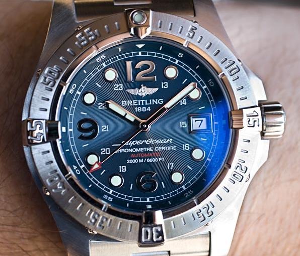 How Are Swiss Steel Cases Breitling Superocean Steelfish Replica Watches UK Sale?