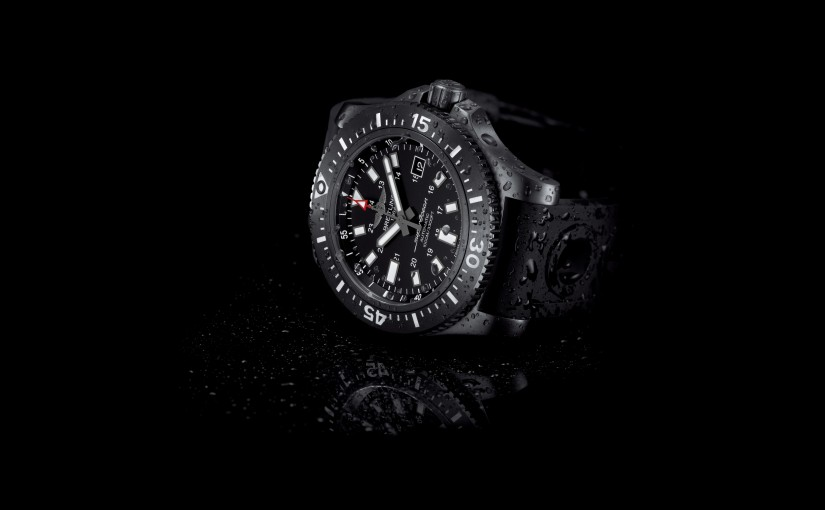 UK Fake Breitling Superocean 44 Watches With Black Ceramic Bezels