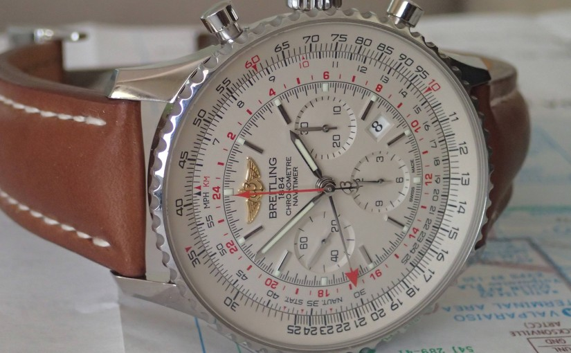 Silver Dials Breitling Navitimer GMT Copy Watches UK: Top Pilot's Travel Chronographs