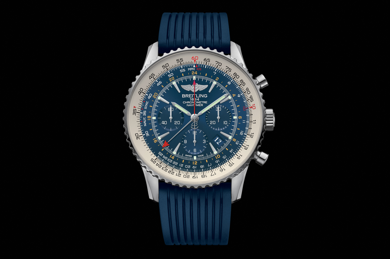 Steel Cases Fake Breitling Navitimer GMT Watches