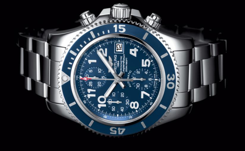 Distinctive Blue Dials Breitling Superocean Chronograph 42 Fake Watches Conquer The Ocean