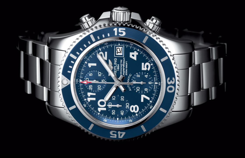 Distinctive Blue Dials Breitling Superocean Chronograph 42 Copy Watches