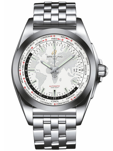 Breitling Galactic Unitime Fake Watches