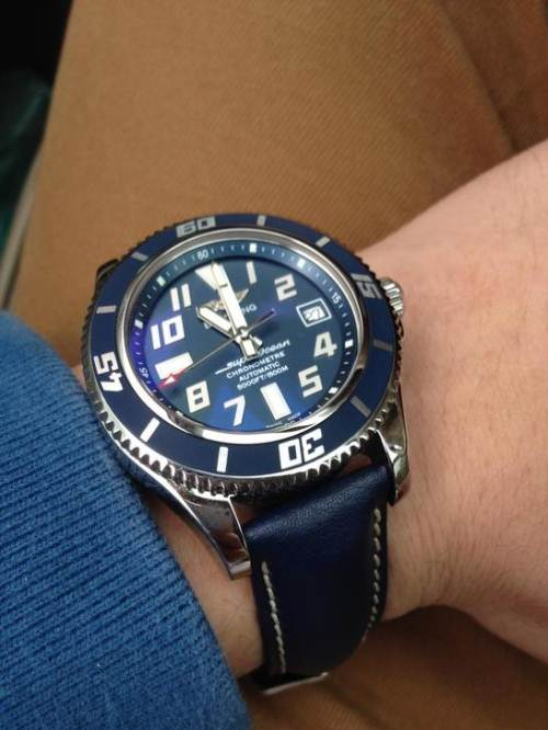 Breitling Superocean Replica Watches With Arabic Numerals
