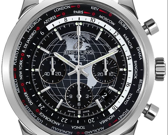 Breitling Transocean Replica Watches UK With Black Leather Straps Of Good Quality