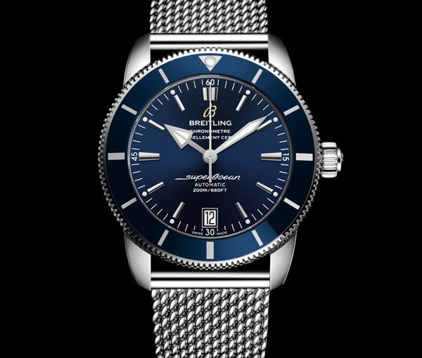 New Breitling Superocean Heritage Replica Watches UK With Blue Dials Of Good Quality