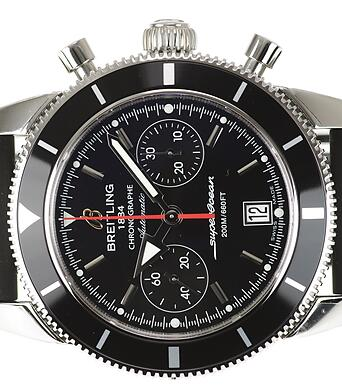 Two Sporty Black Straps Fake Breitling Superocean Héritage Chronographe 44 Watches Practical At Sea