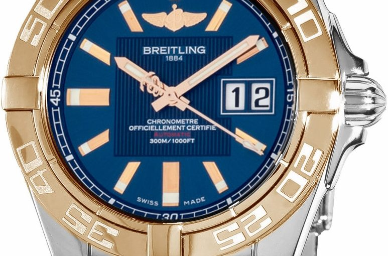 Two Rose Gold Indexes Fake Breitling Galactic Watches Interpret Warmth