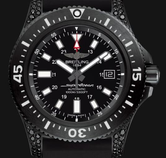 Two Fancy Fake Breitling Superocean Watches Form Fashion