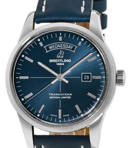 New Breitling Transocean Day & Date Limited Edition Replica UK Watches Please You