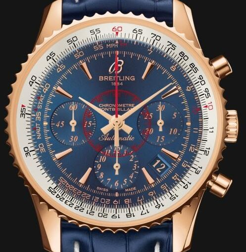 Two Blue Dials Fake Breitling Montbrillant 01 Watches Ensure Trendy Feeling