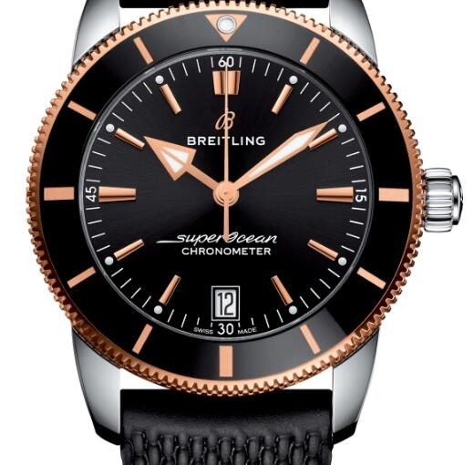 Two Refreshing Fake Breitling Superocean Héritage II Watches Online Decorated With Rose Gold