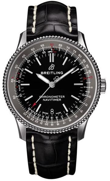 Proper to any dressing style, the high-quality fake Breitling Navitimer watches are mainly in black.