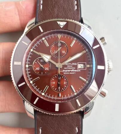 Swiss Breitling Superocean Héritage imitation watches are perfect in the chronograph.