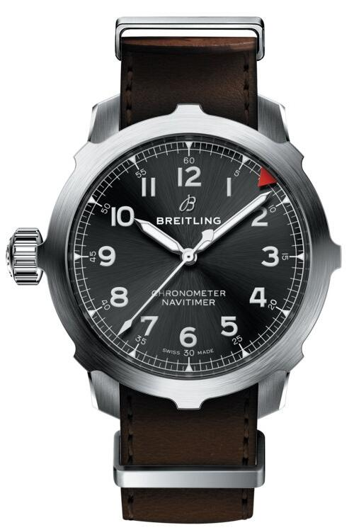 Breitling Navitimer replica male watches are made with 50mm in diameter.
