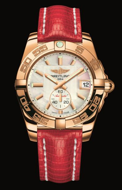 Excellent reproduction watches are delicate with red gold.