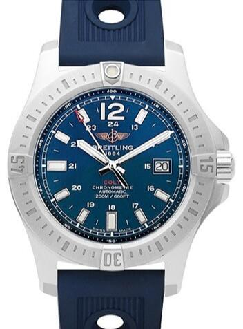Delicate knock-off watches are attractive in blue.