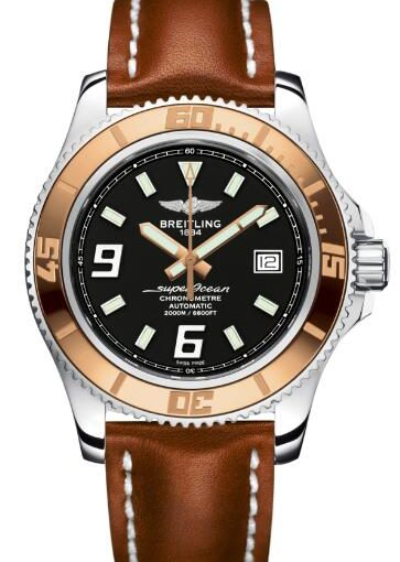 Noble Men's Choice – 44MM UK Breitling Superocean Fake Fancy Watches
