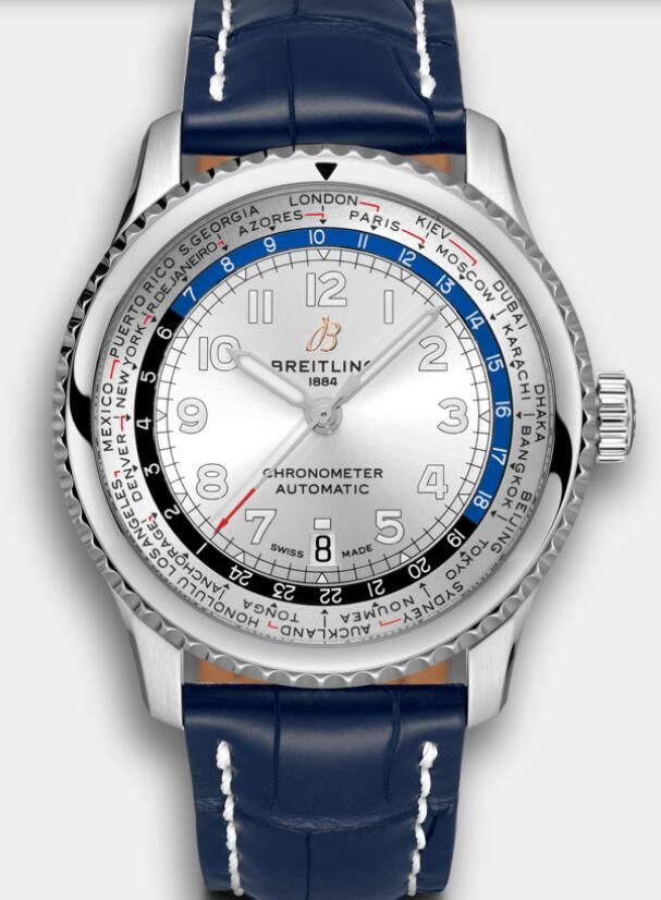 Online duplication watches are presented with world time.