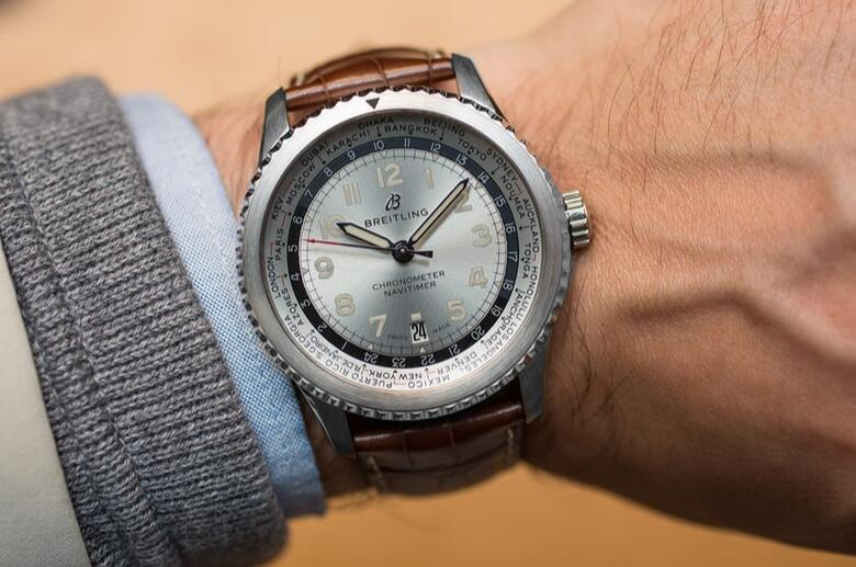 Swiss knock-off watches are featured with Arabic numerals.