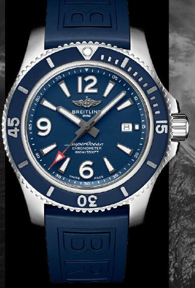 Swiss knock-off watches are fancy with blue bezels.