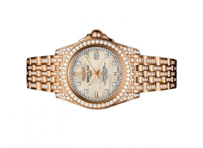 UK Precious Replica Breitling Galactic H7133063 Watches Tailor Made For Females