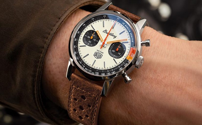 The Watch As Plot Device: UK Best 1:1 Fake Breitling Top Time Deus (Ex Machina) Limited Edition