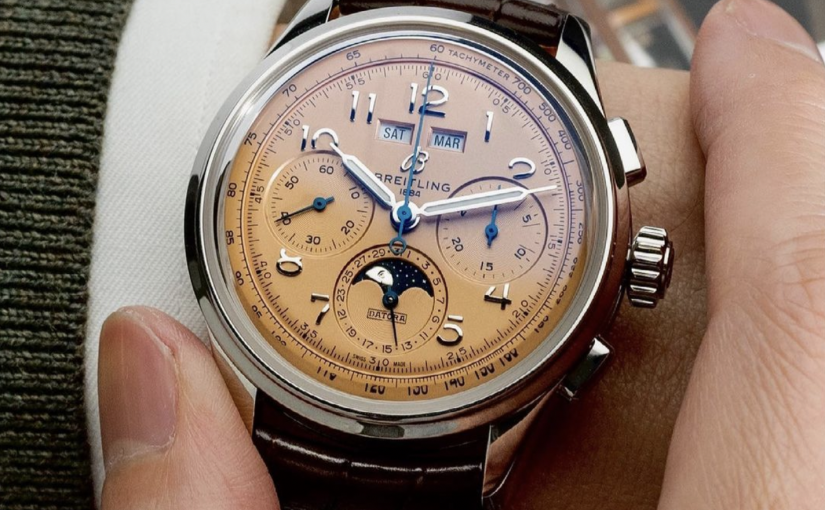 The Surprise Of The Year – Swiss Made Fake Breitling Premier B25 Datora 42 Copper UK